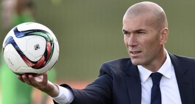 Zinédine Zidane, nouvel entraîneur du Real Madrid