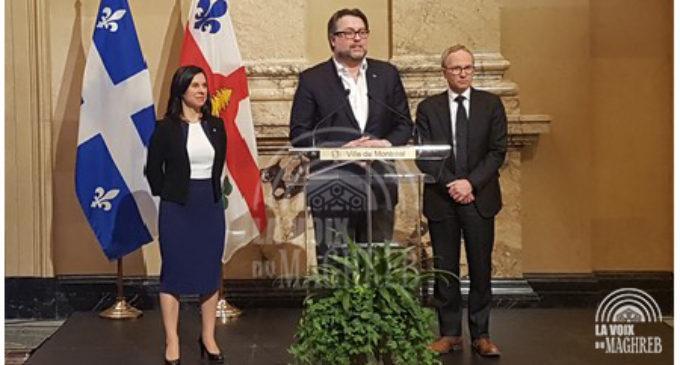 Le ministre de l'Immigration québécois , M David Heurtel  fait d'importantes annonces .