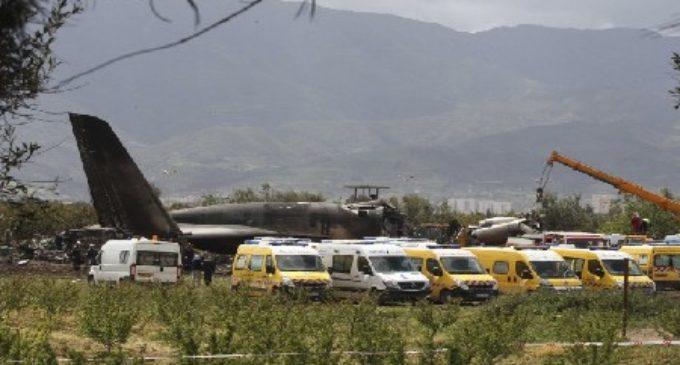 Algérie: 257 morts dans l'écrasement d'un avion militaire