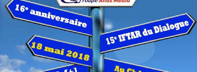 Atlas Medias fête son 16e anniversaire et son 15e Iftar .