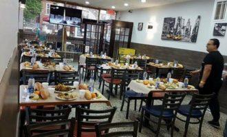 Un Iftar de ramadan gratuit au quartier du Petit Maghreb de Montréal .