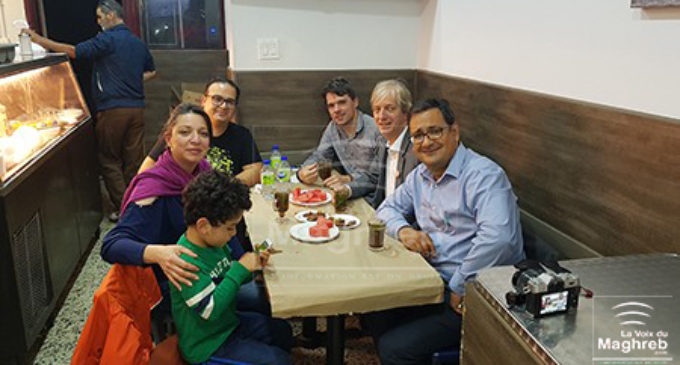 «Chorba pour Tous » de Montréal  reçoit la visite d'une délégation de Québec solidaire